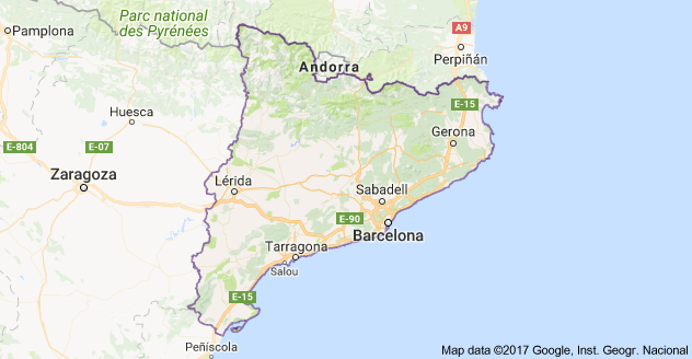 Catalonia Government Holding An Independence Vote October St - Where is andorra