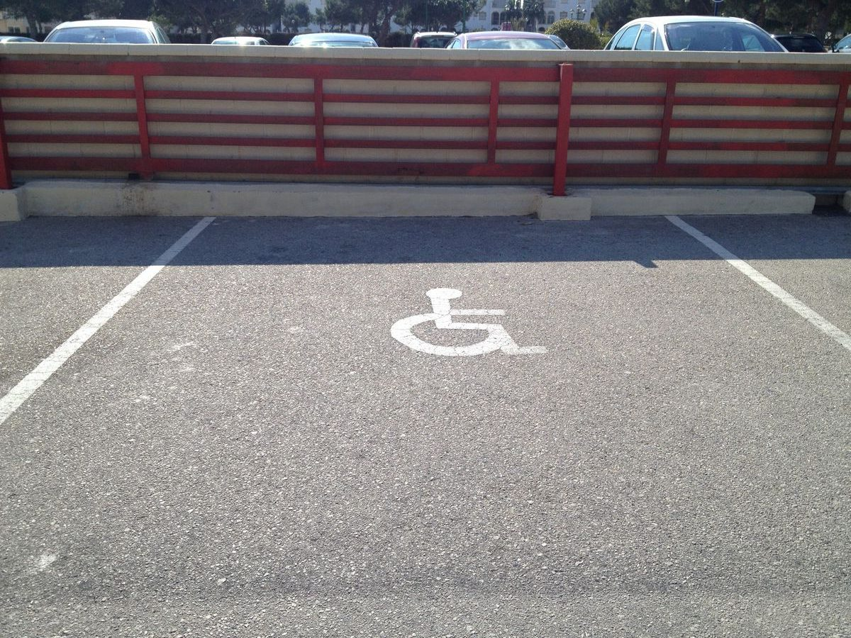 Parking Badges in Spain for Disabled on