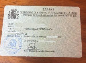 Spanish Residency rules